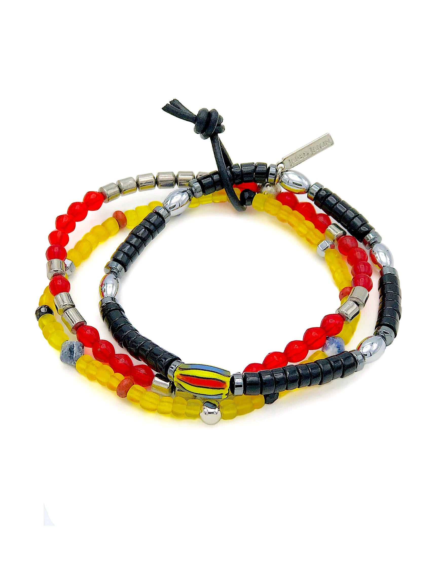 Samurai Bracelet Set-Bracelets-JAREDJAMIN Jewelry Online-JAREDJAMIN - Fashion Jewelry & Accessories
