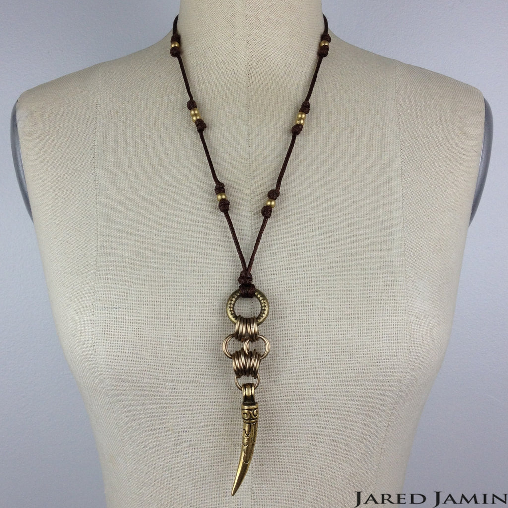 Scorpion's Tail Necklace, Necklaces, JARED JAMIN