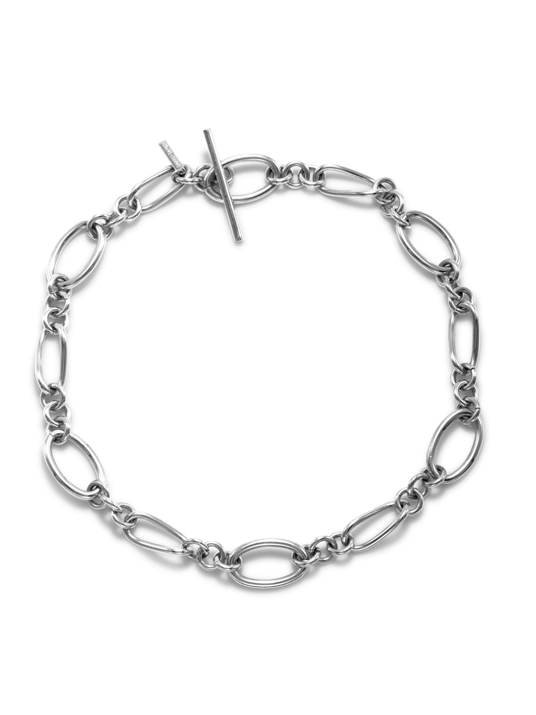 Silver Ophelia Choker Chain Necklace
