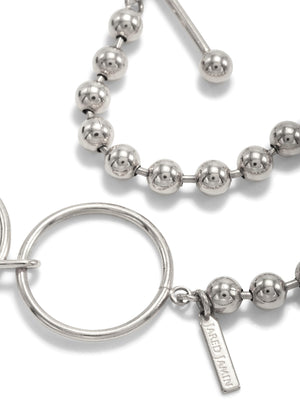 Silver Constellation Toggle Bracelet