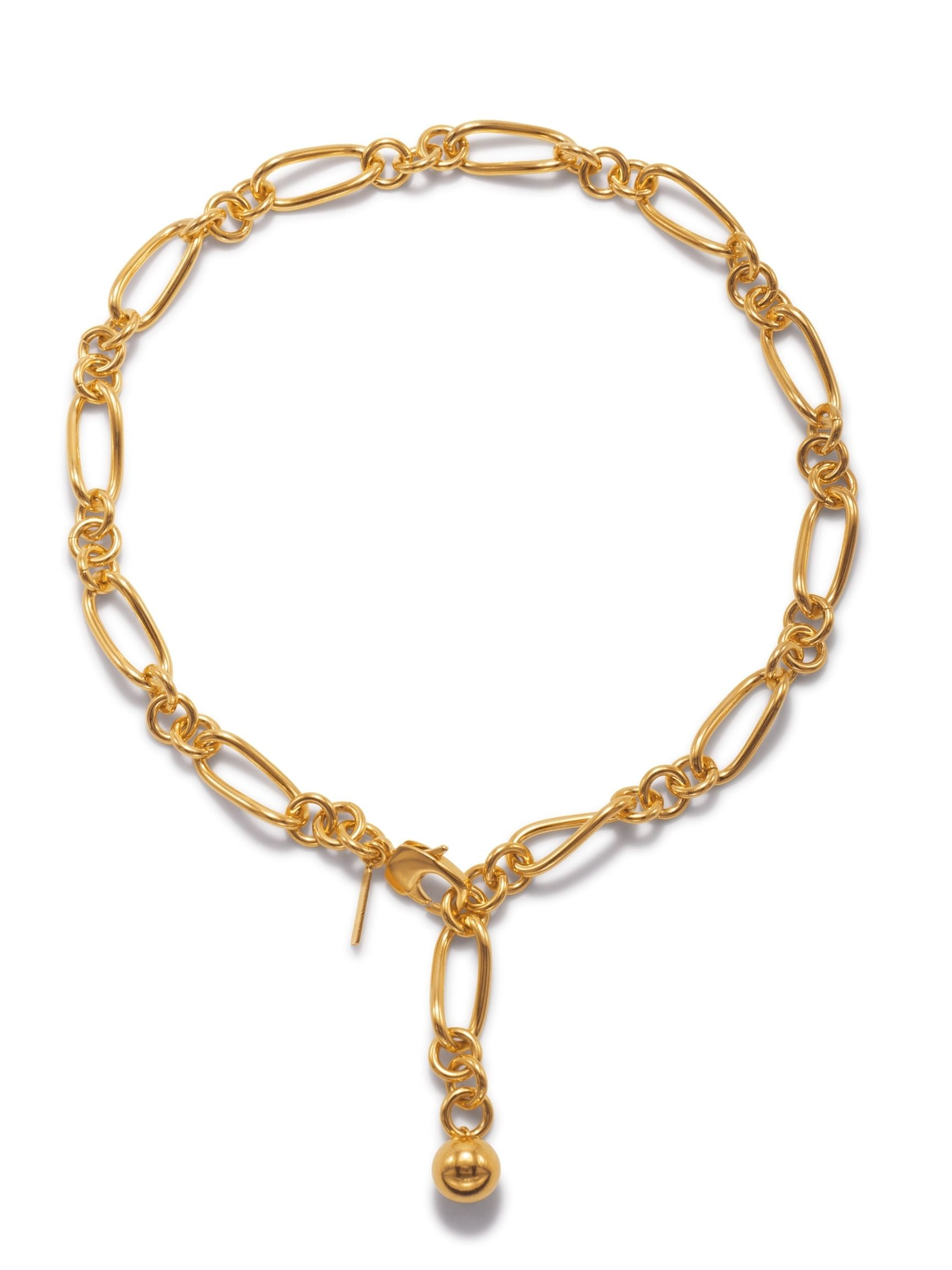 Gold Skyler Chain Necklace