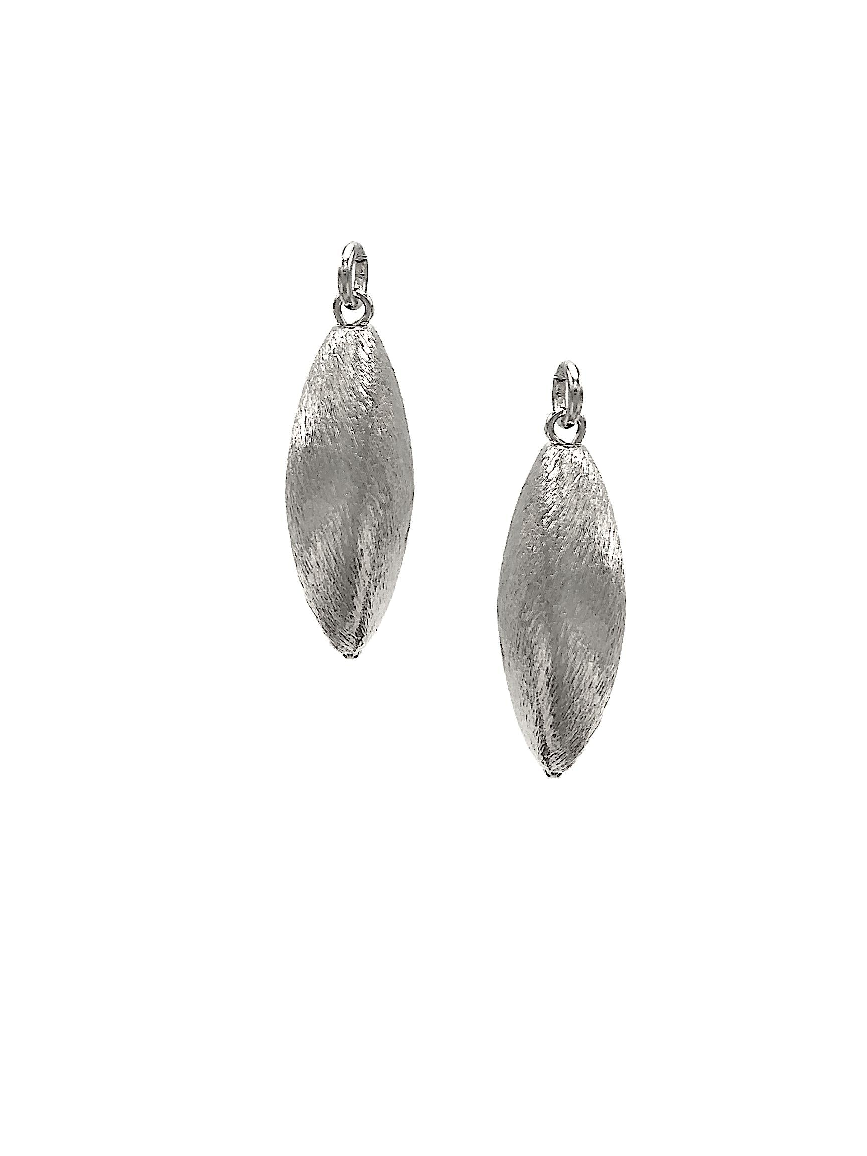 Zeppelin Silver Earring Charms-Womens Charms for Earrings-JAREDJAMIN Jewelry Online-JARED JAMIN