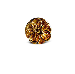 Gold Santorini Rose Ring-Womens rings-JAREDJAMIN Jewelry Online-JARED JAMIN