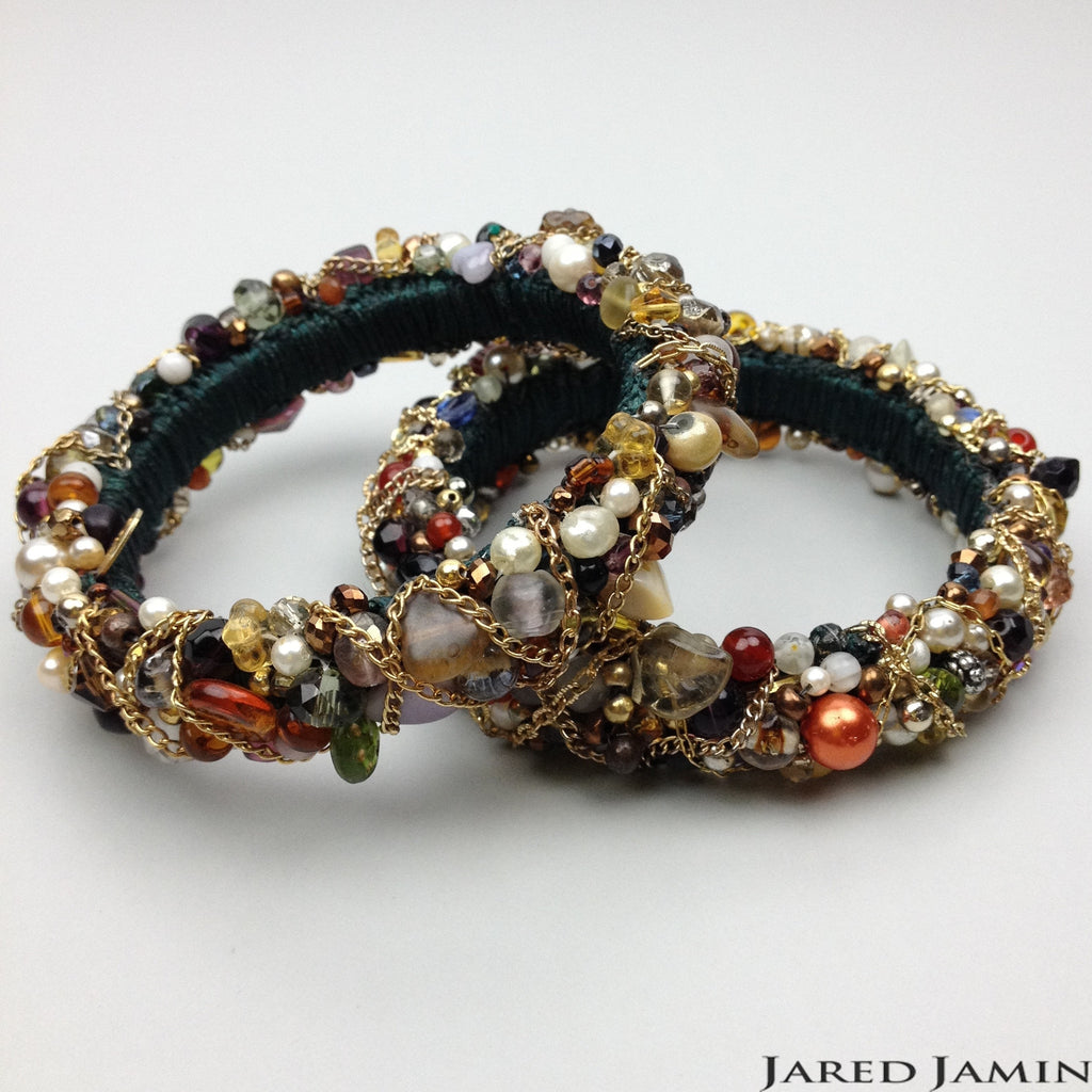 Cocktail Crawfords Bangles-Bracelets-Jared Jamin Online-Womens Fashion Jewelry JAREDJAMIN