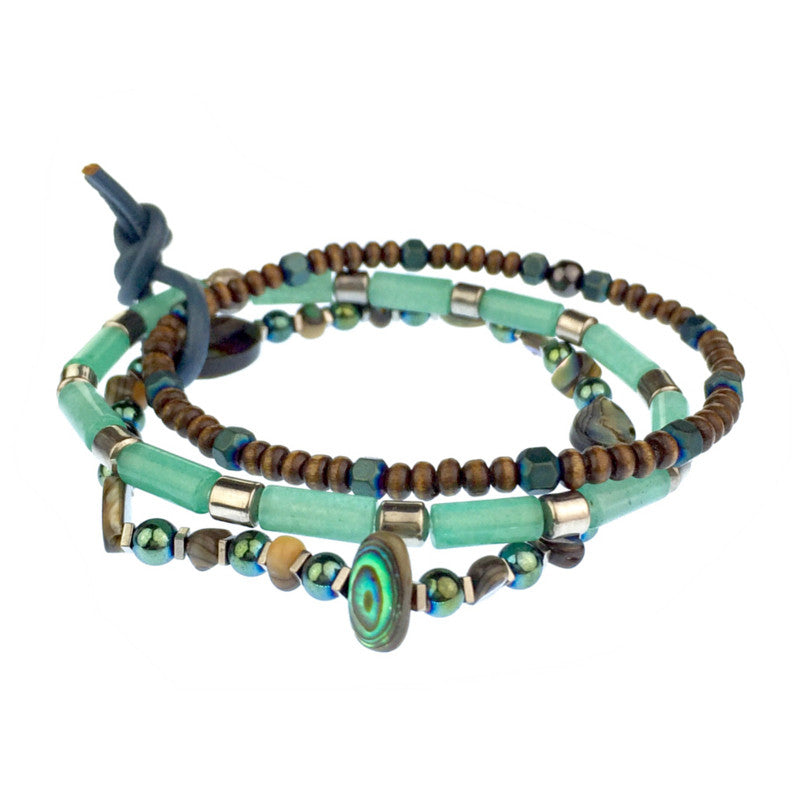 Bracelets - Jared Jamin  - Jared Jamin Online - Emerald City Bracelet Set -  - 2