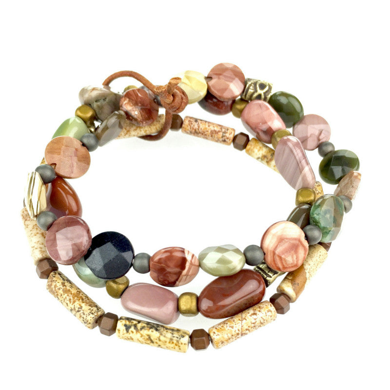 Bracelets - Jared Jamin  - Jared Jamin Online - Forest Floor Bracelet Set -  - 2
