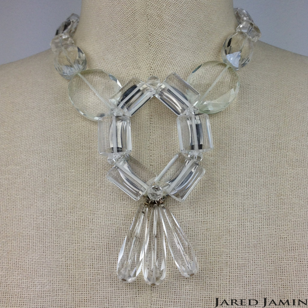 Crystal Collier Necklace, Necklaces, JARED JAMIN
