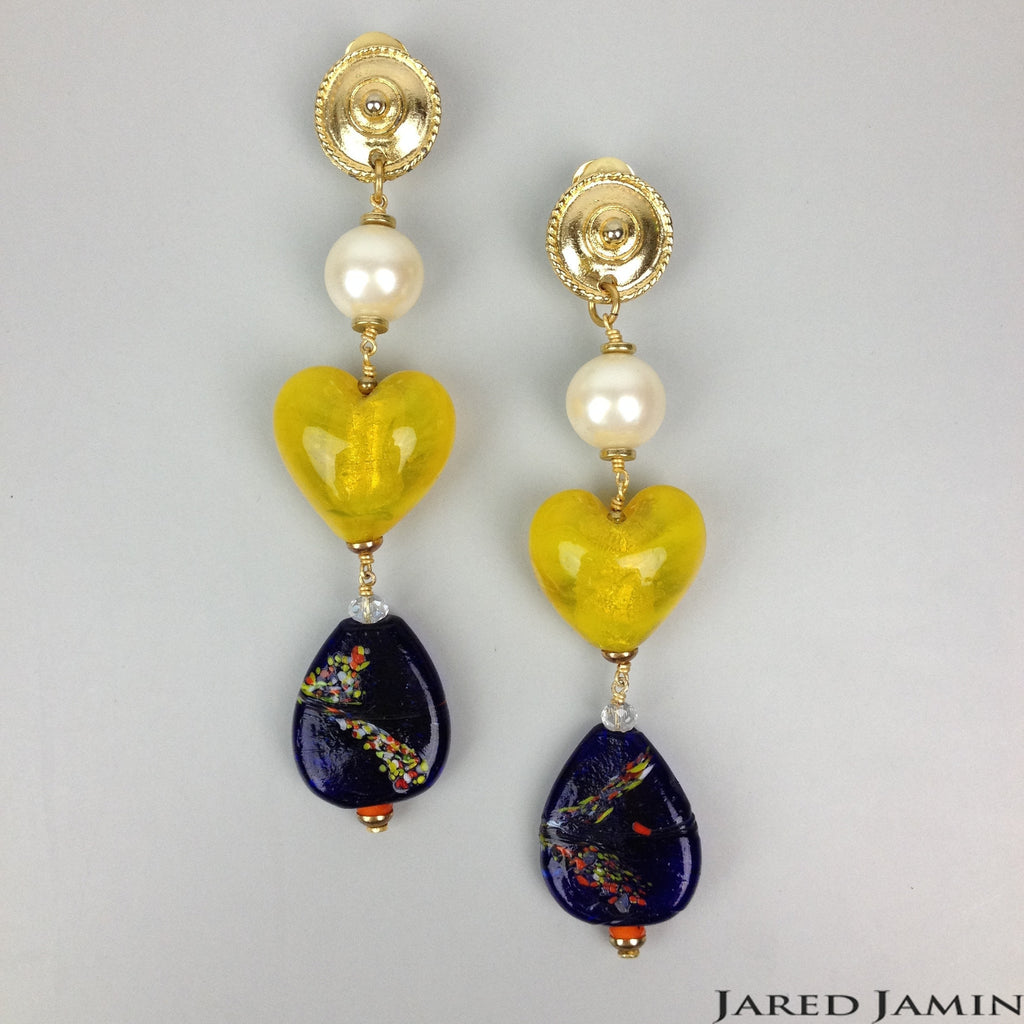 Friendly Hearts Earrings, Earrings, JARED JAMIN