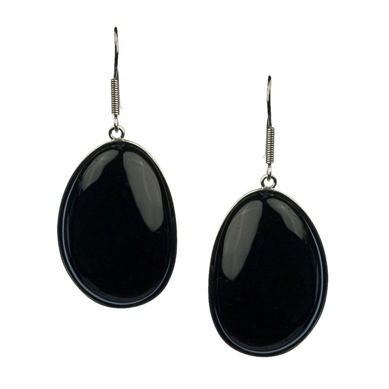 Organic Onyx Bliss Earrings-Earrings-Jared Jamin Online-Varied-JARED JAMIN