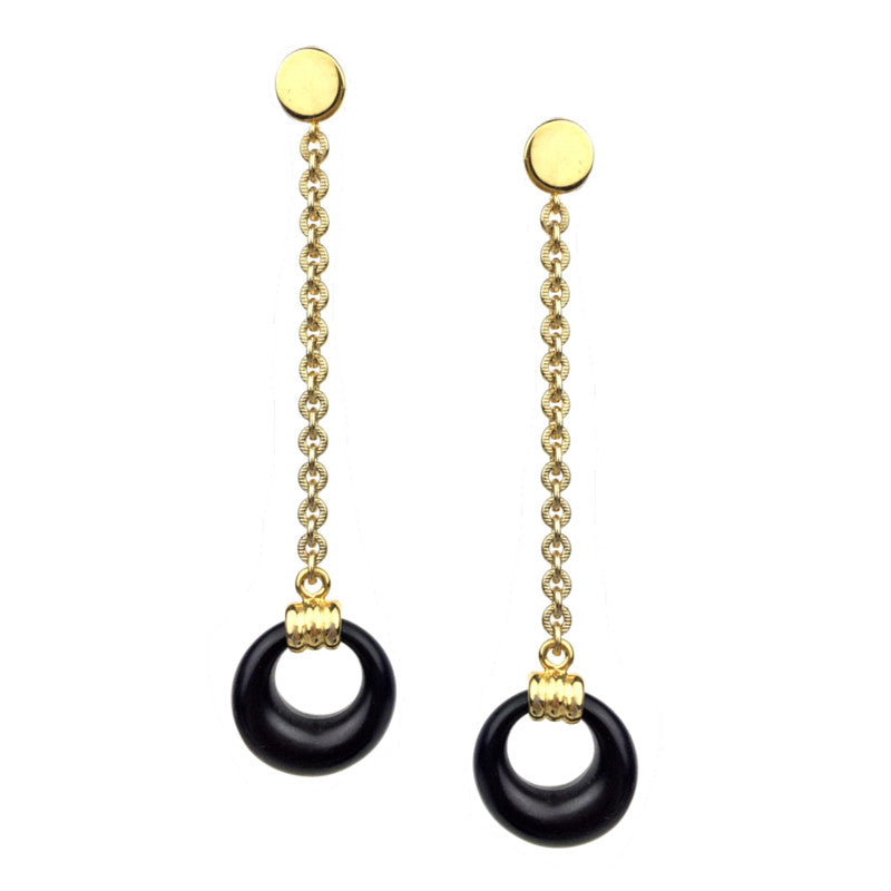 Earrings - Jared Jamin  - Jared Jamin Online - Retro Tire Swings Earrings -  - 2