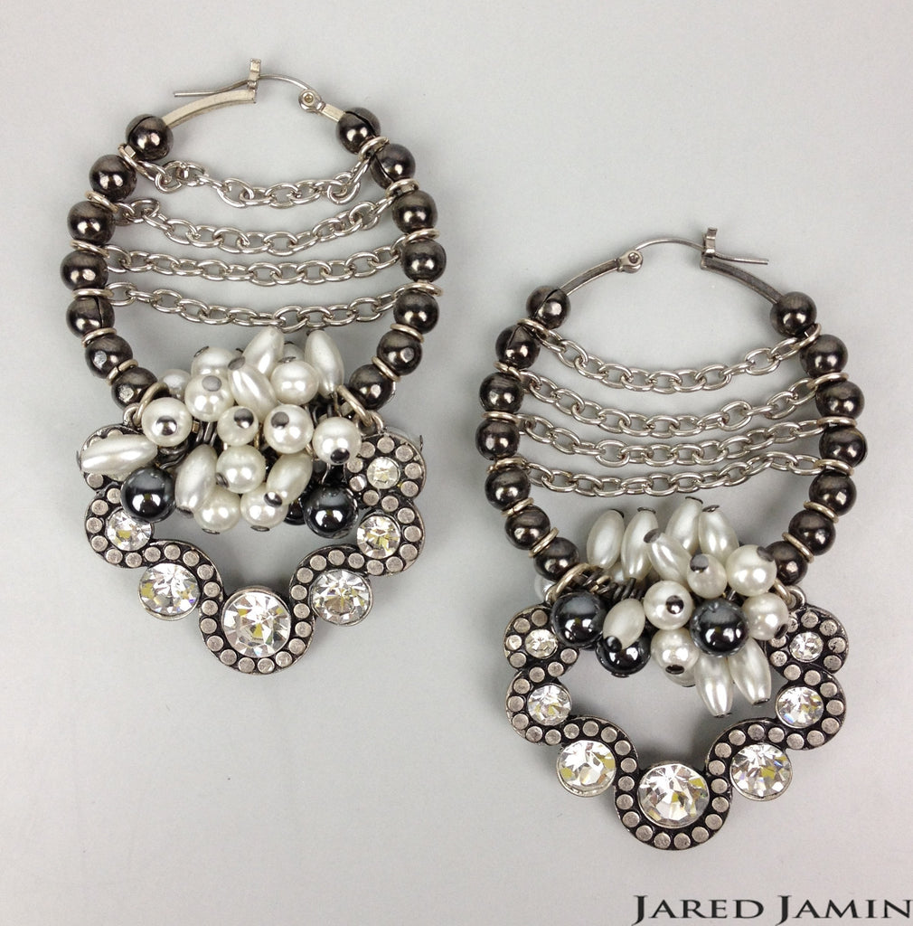 Rolling Aristocracy Earrings, Earrings, JARED JAMIN
