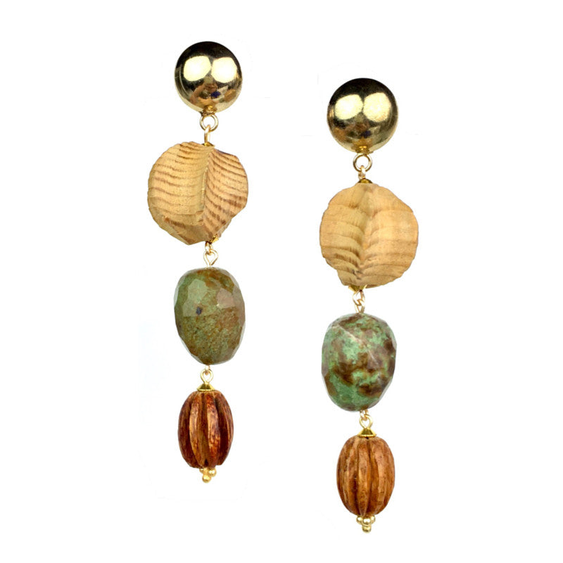 Earrings - Jared Jamin  - Jared Jamin Online - Wind Twirlers Earrings -  - 2
