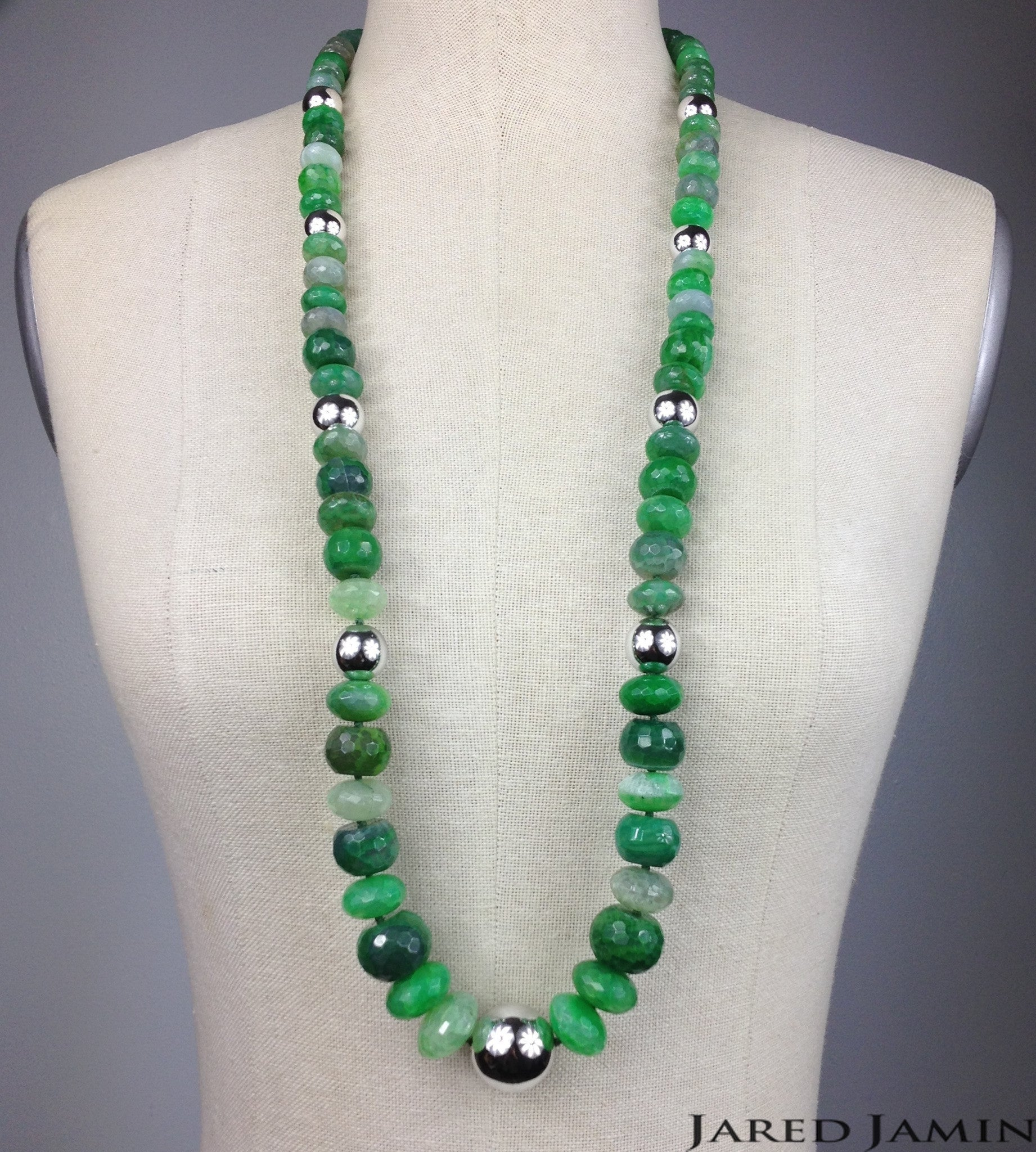 Green Danube Necklace JARED JAMIN