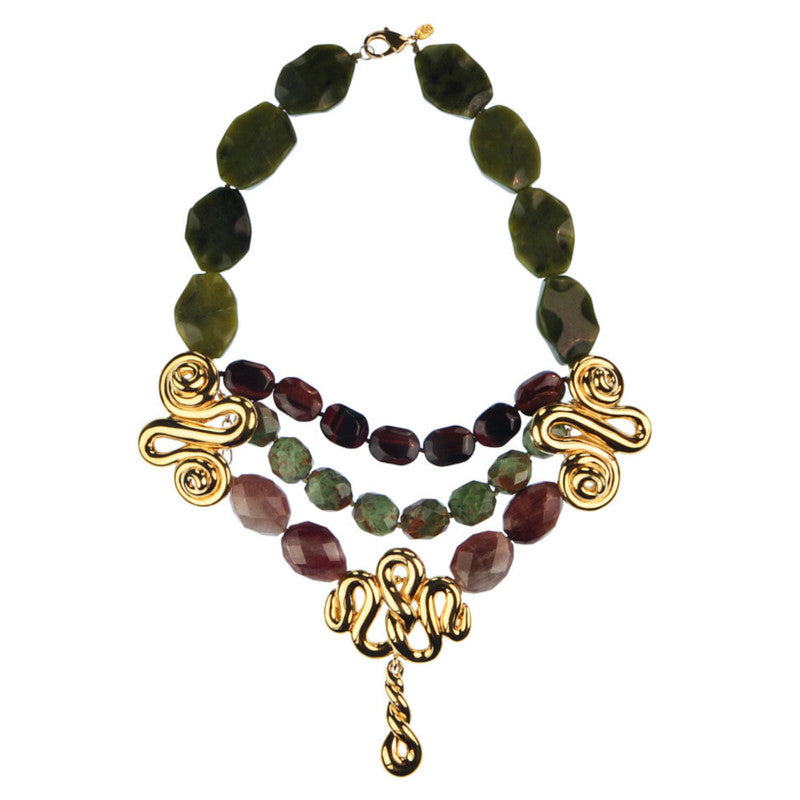 Made Up Milly Necklace-Necklaces-Jared Jamin Online-Gold-JARED JAMIN