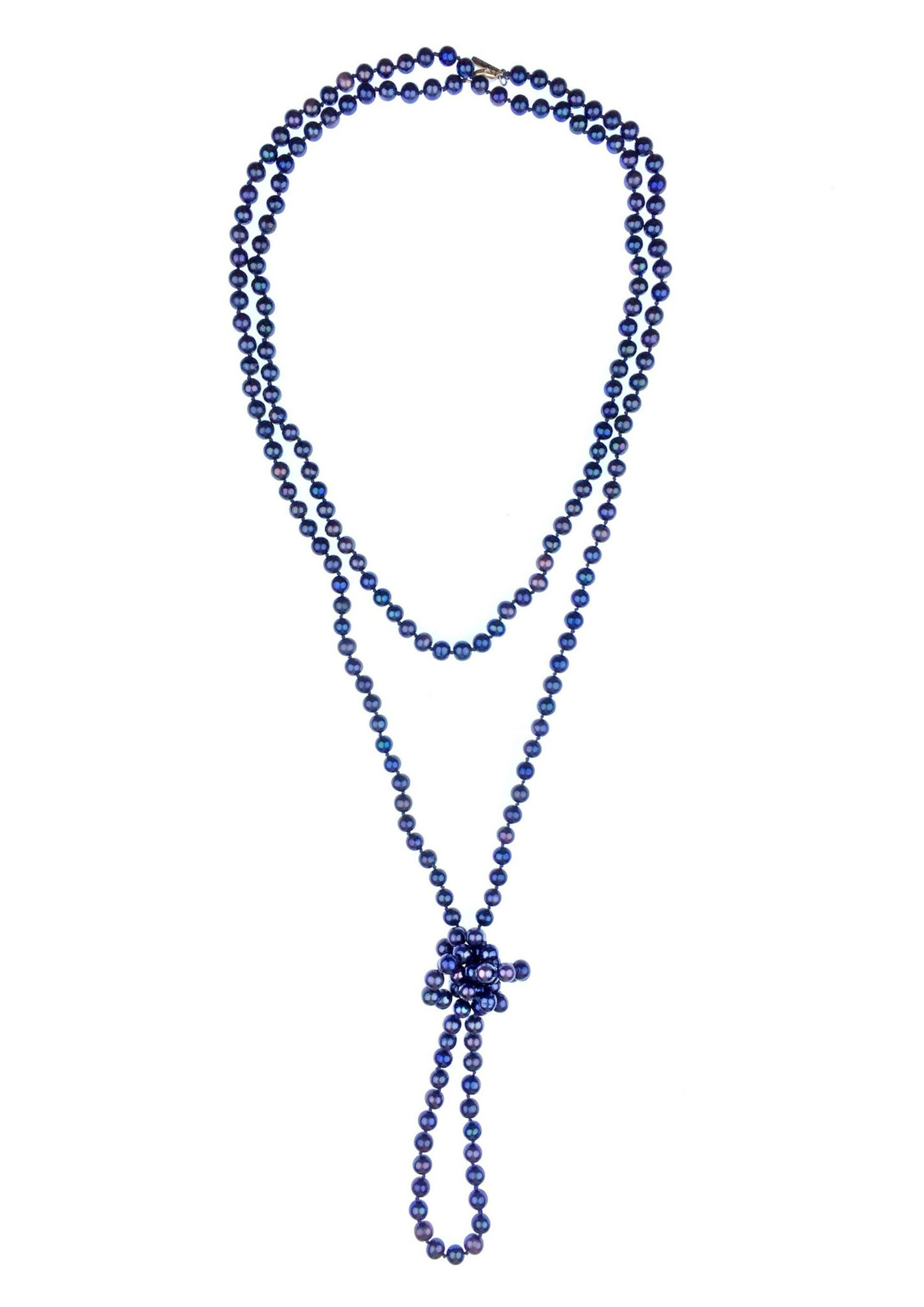 Blue Bounty Pearl Necklace JARED JAMIN