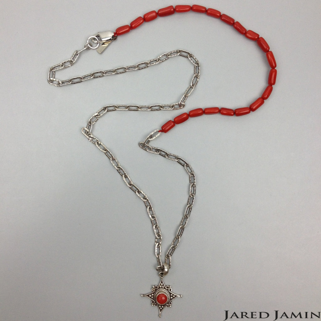 Coral Star Necklace-Necklaces-Jared Jamin Online-JARED JAMIN-Mens Jewellery
