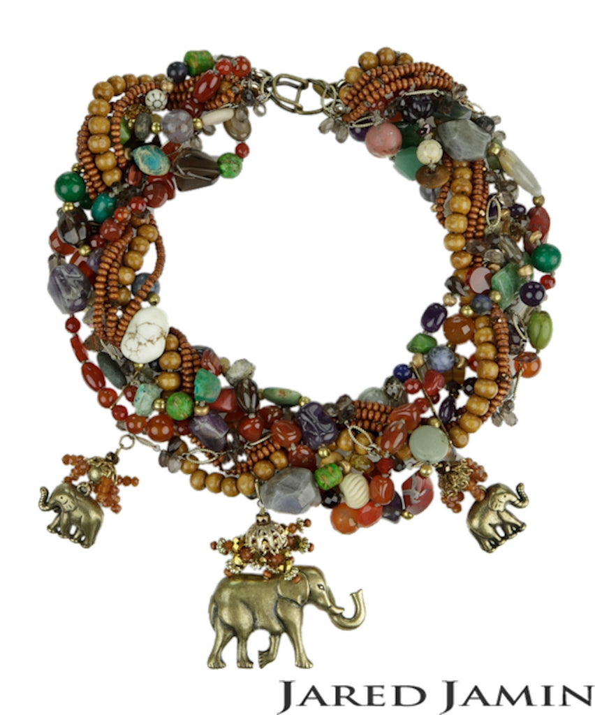 Elephant Dance Necklace, Necklaces, JARED JAMIN