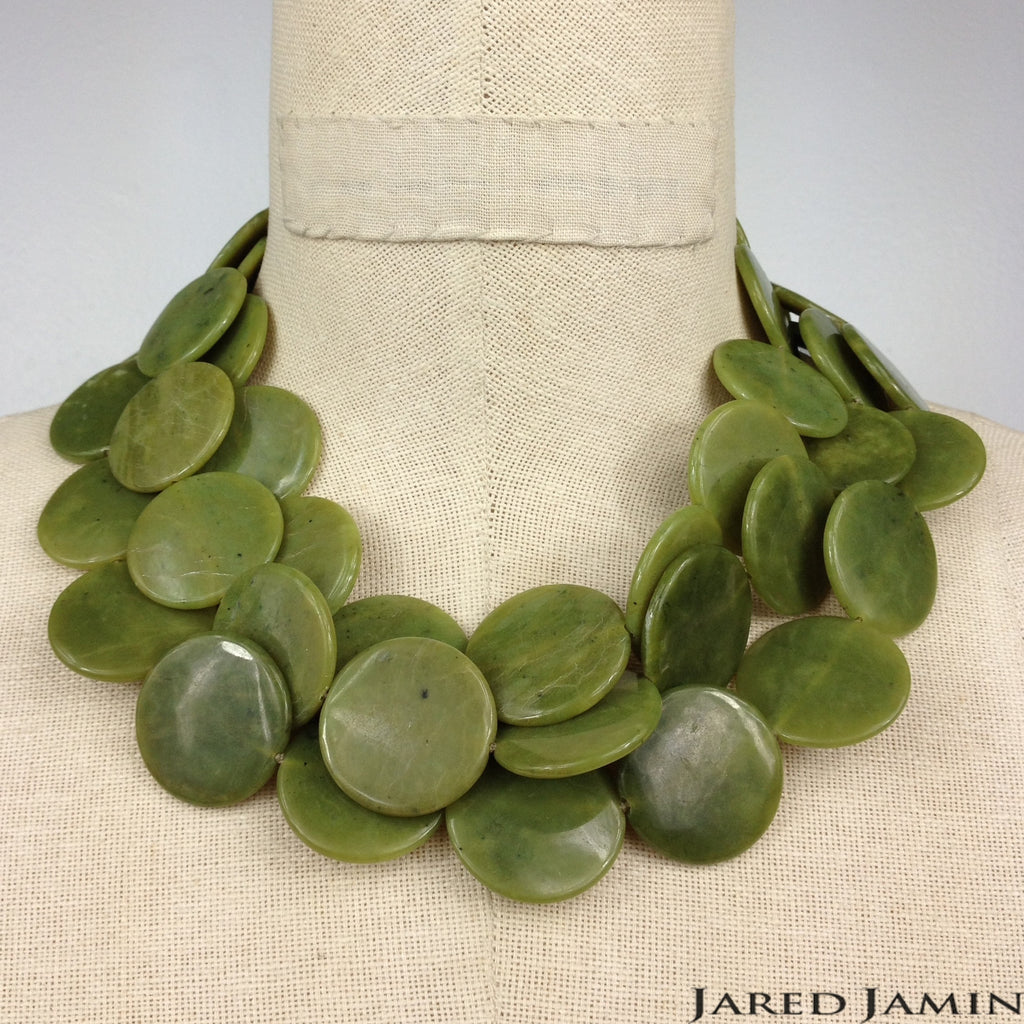 Jade-A-Minute Necklace, Necklaces, JARED JAMIN