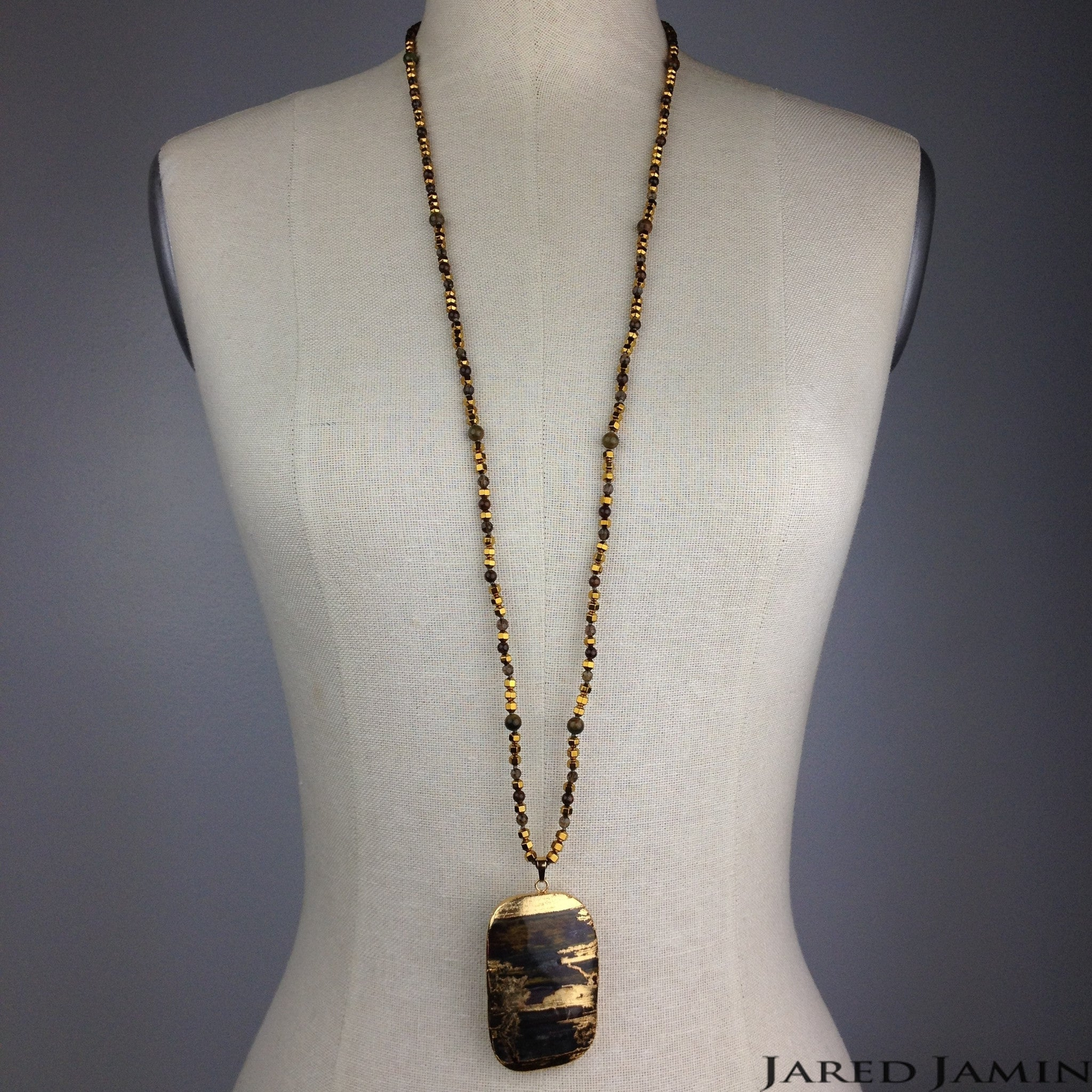 Stroke of Gold Luck Necklace JARED JAMIN