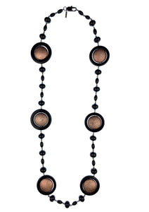 Necklaces - Jared Jamin  - Jared Jamin Online - There Goes Iris Onyx Necklace -  - 1