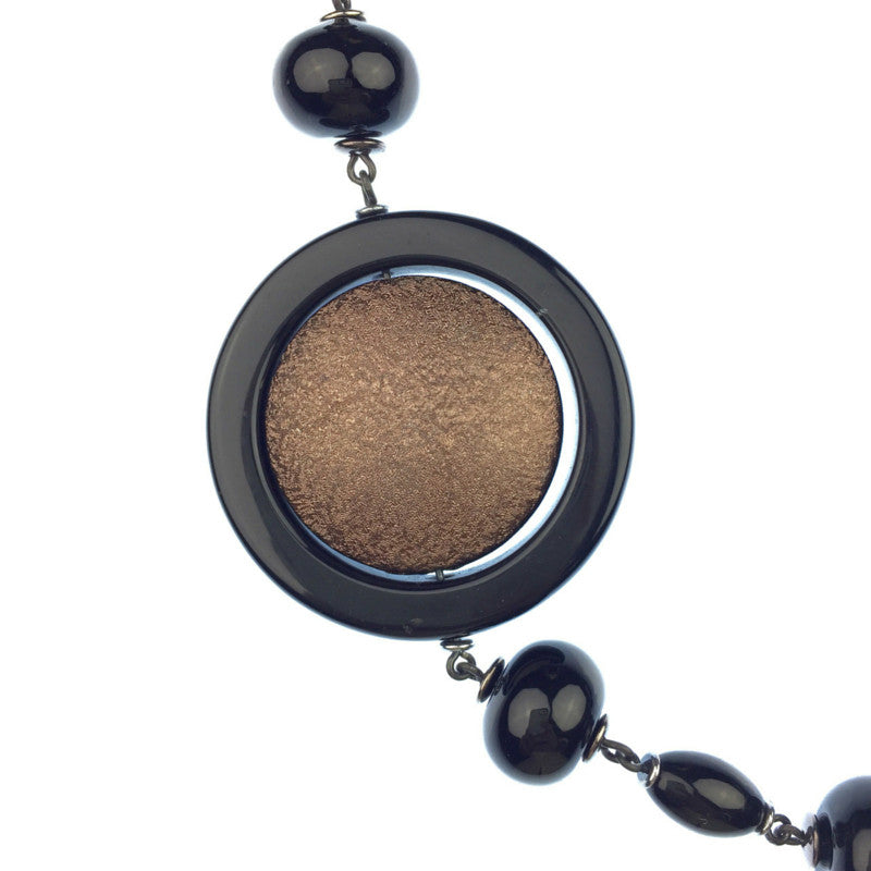 Necklaces - Jared Jamin  - Jared Jamin Online - There Goes Iris Onyx Necklace -  - 2