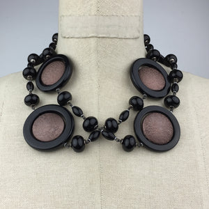 There Goes Iris Onyx Necklace-Necklaces-Jared Jamin Online-Black-JARED JAMIN