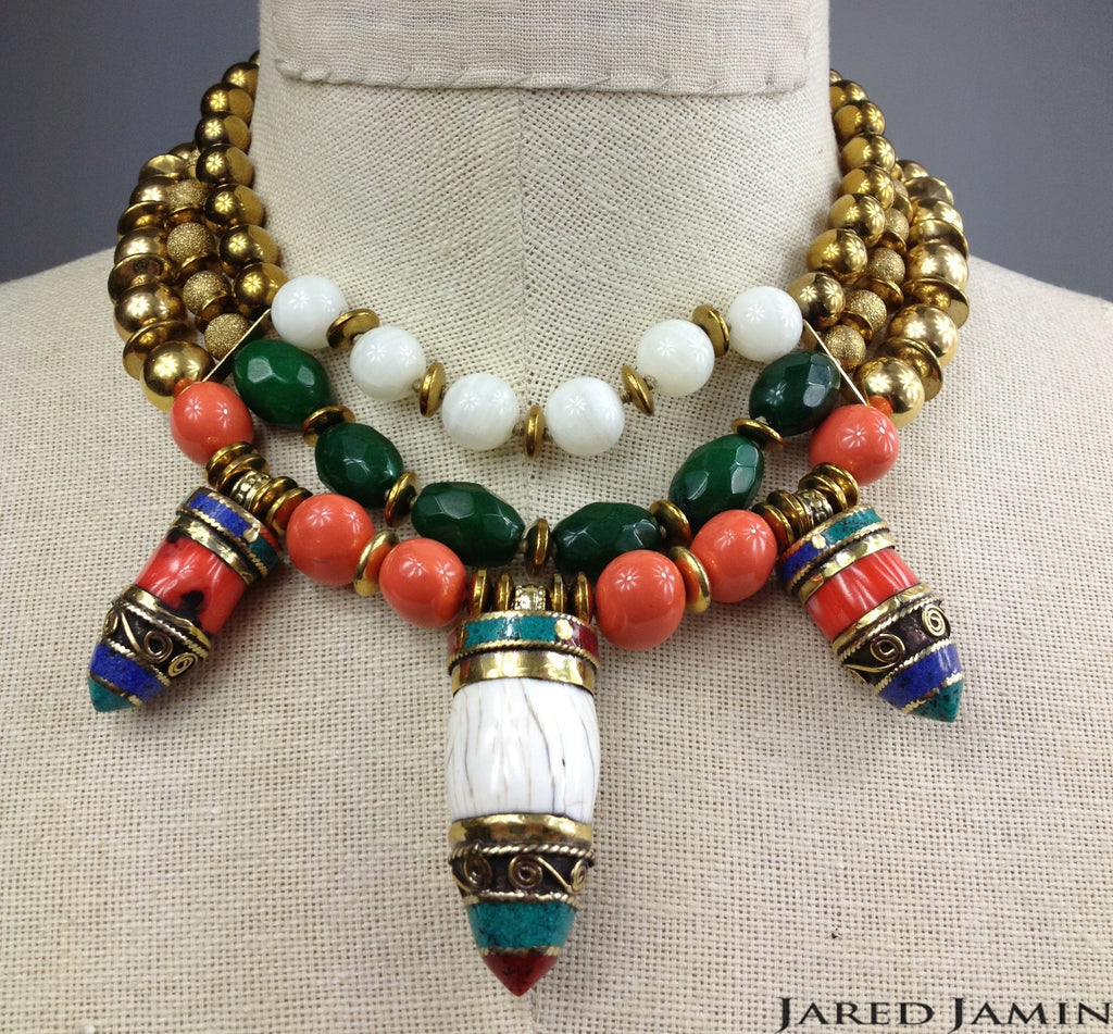 Tibetan Tide Necklace, Necklaces, JARED JAMIN