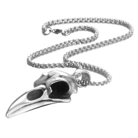 Eagle Skull Crow Bird Stainless Steel Necklaces