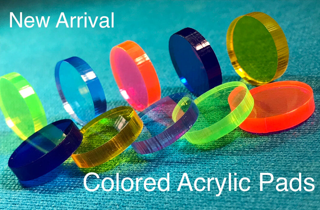 Colored Acrylic Pads (Mix or Match 5)