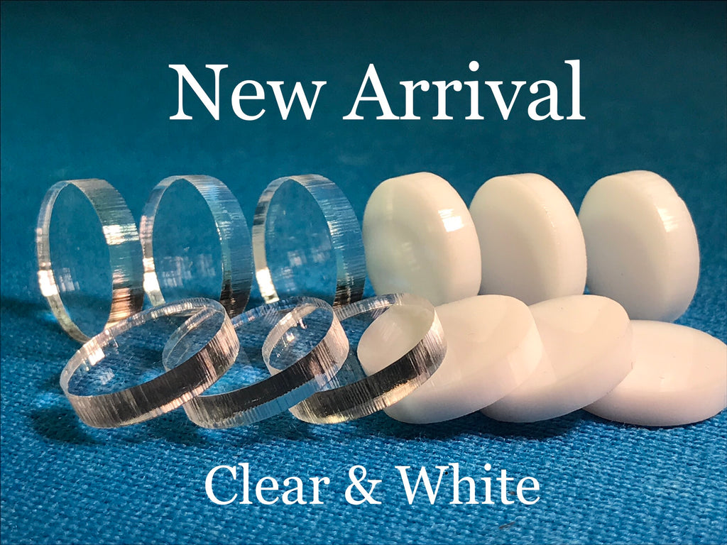 Acrylic Pads White & Clear (Mix or Match 5)