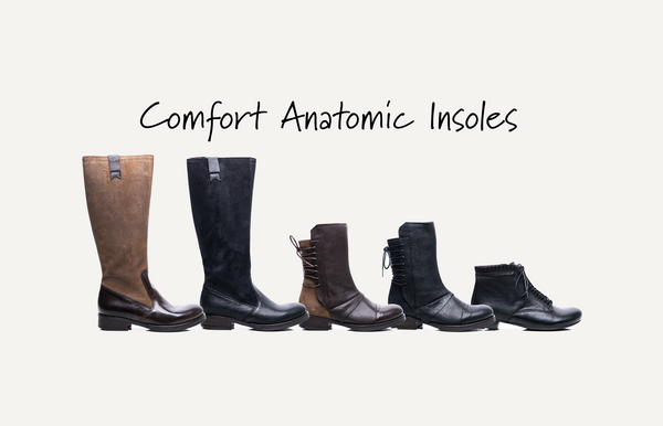 Best Fitting Boots, Comfort Anatomic Insoles Handmade in Spain
