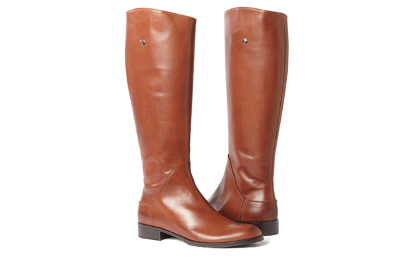 large boots, polo boots, equestrian boots, tall brown boots, cognac brown boots, tall boots, large size boots, plus size boots, boots in extended size