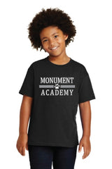 Monument Academy Paw Print T-shirt (Retiring) Limited Sizes Available