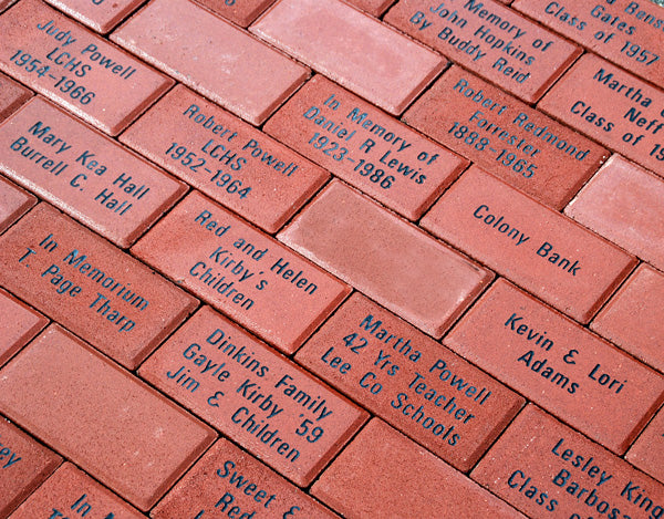 Commemorative Brick Sponsorship