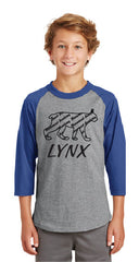 **Lynx Outline T-shirt (3 Color Choices)