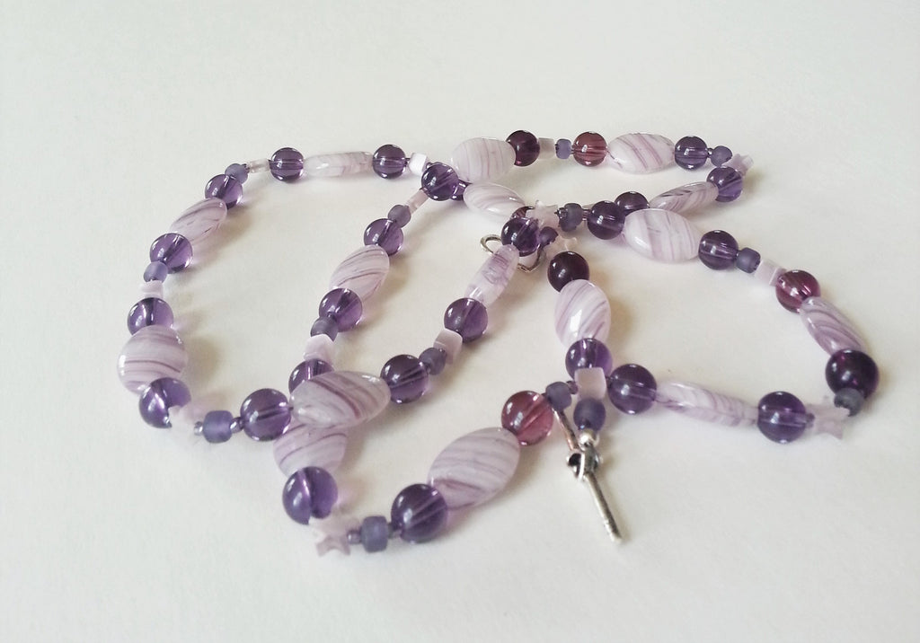 50 Shades of Purple Necklace