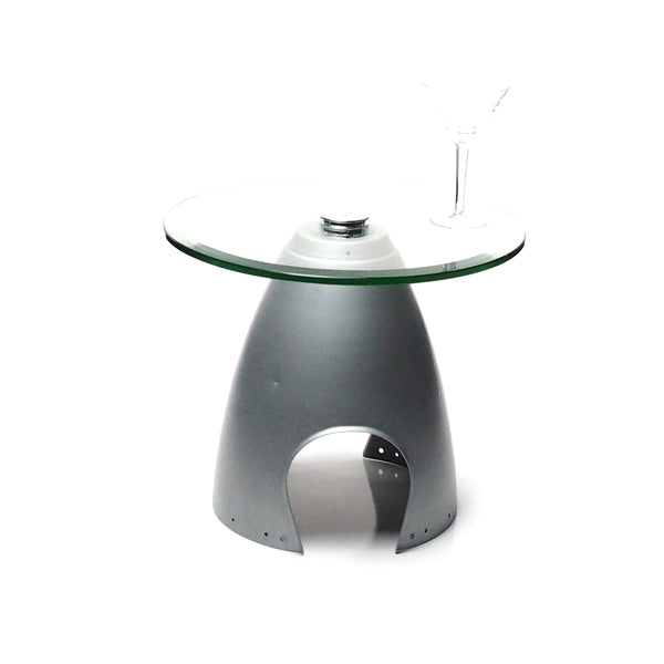 Space Age Eames Era Airplane Spinner Cone Coffee Table