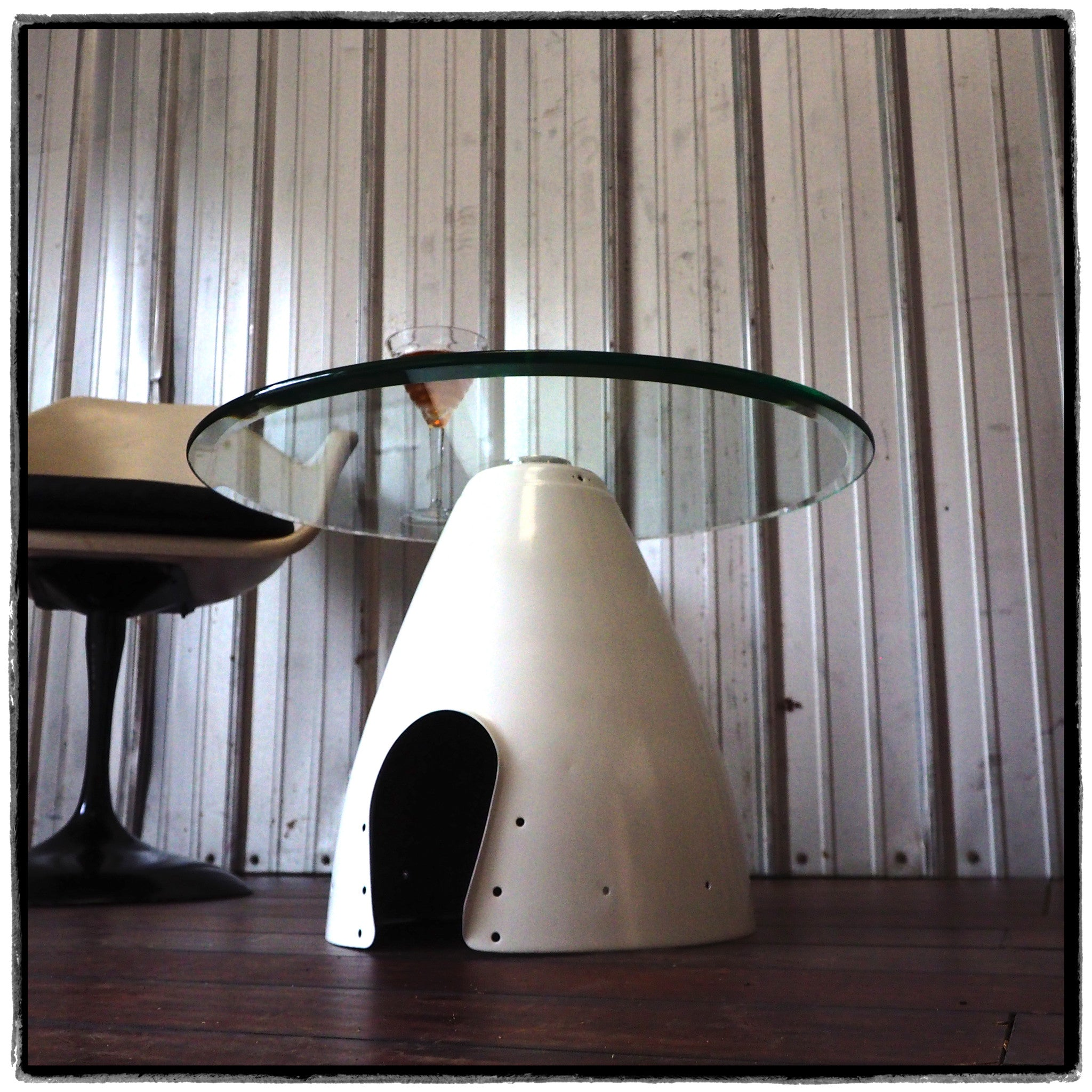 Space Age Furniture Space Age Eames Era Airplane Spinner Cone Coffee Table Aviation