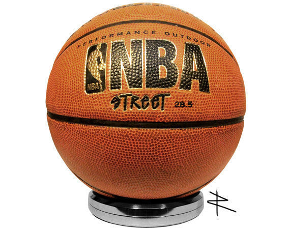 Ultra Premium Polished Basketball Soccer Display Stand Aviation Gorgeous Bowling Ball Display Stand