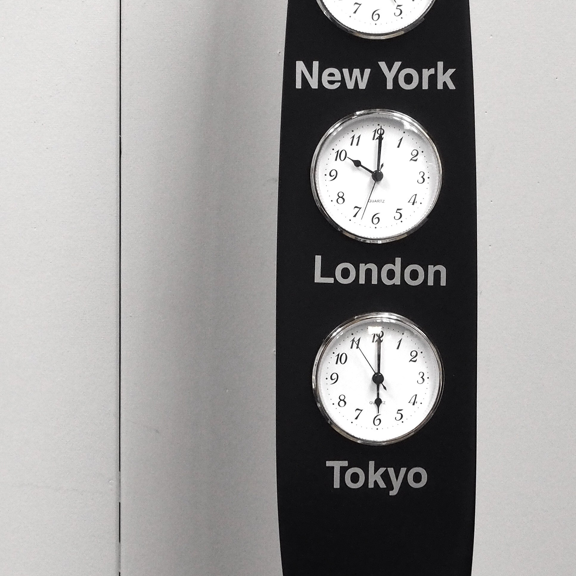 Time Zone Clock New York London Tokyo Cessna Airplane Propeller ...