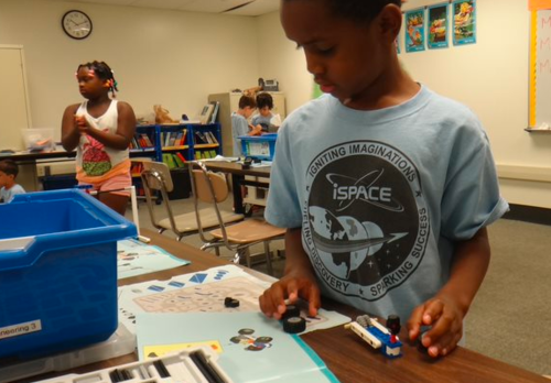iSPACE Cincinnati, OH students builds robot in igniting imaginations t-shirt