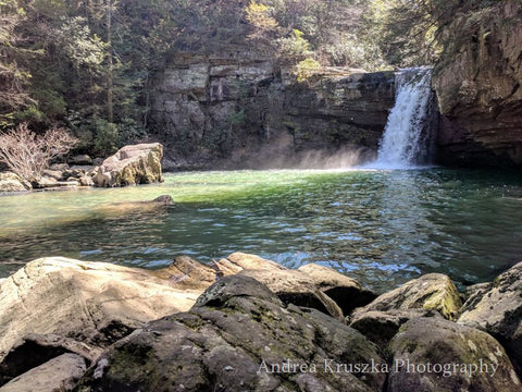 Savage Falls in Savage Gulf State Natural Area, Palmer, Tennessee