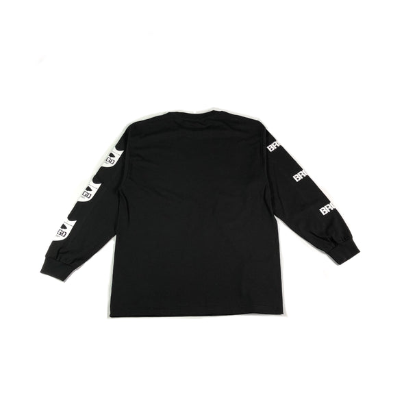 Standout Long Sleeve T-Shirt - Black