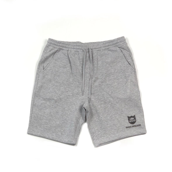 SHIELD SWEAT SHORTS - HEATHER GREY