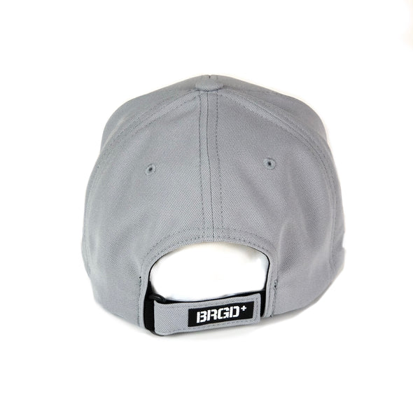 Bass Brigade Logo Patch Performance Hat - Grey