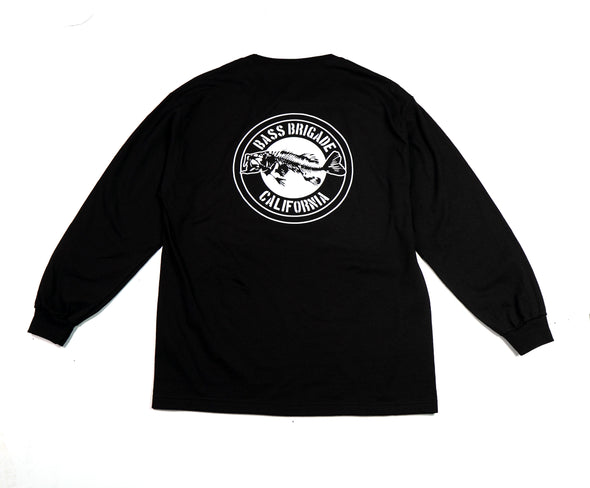California Bass  Long Sleeve T-Shirt - Black