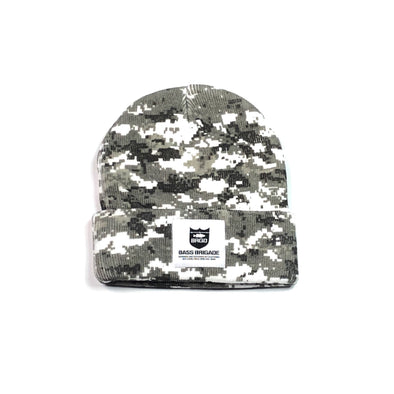 Bass Brigade Watcher Cap - Snow Camo