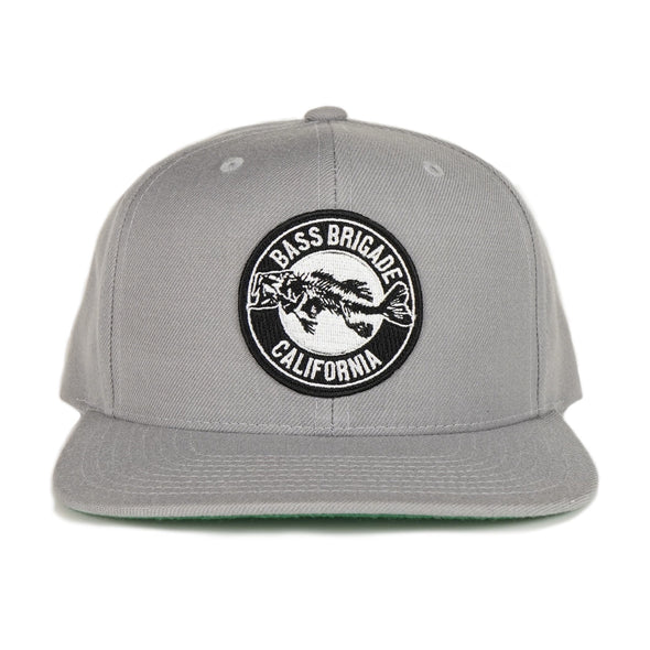 California Bass Patch Hat - Silver