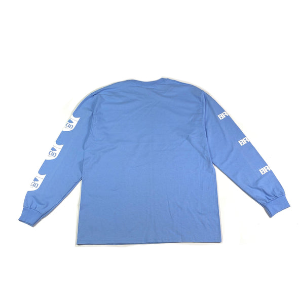 Standout Long Sleeve T-Shirt - Carolina Blue
