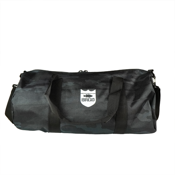 Bass Brigade Duffle Bag - Black Camo